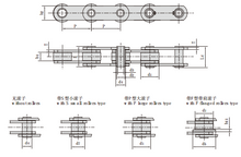 Hollow Pin Conveyor Chains (MC Series)